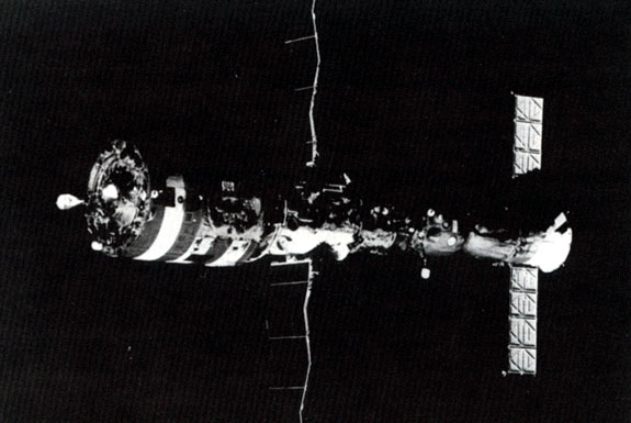 salyut 1 space station illustration - photo #45